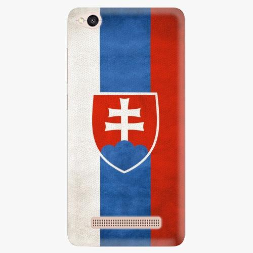 Plastový kryt iSaprio - Slovakia Flag - Xiaomi Redmi 4A