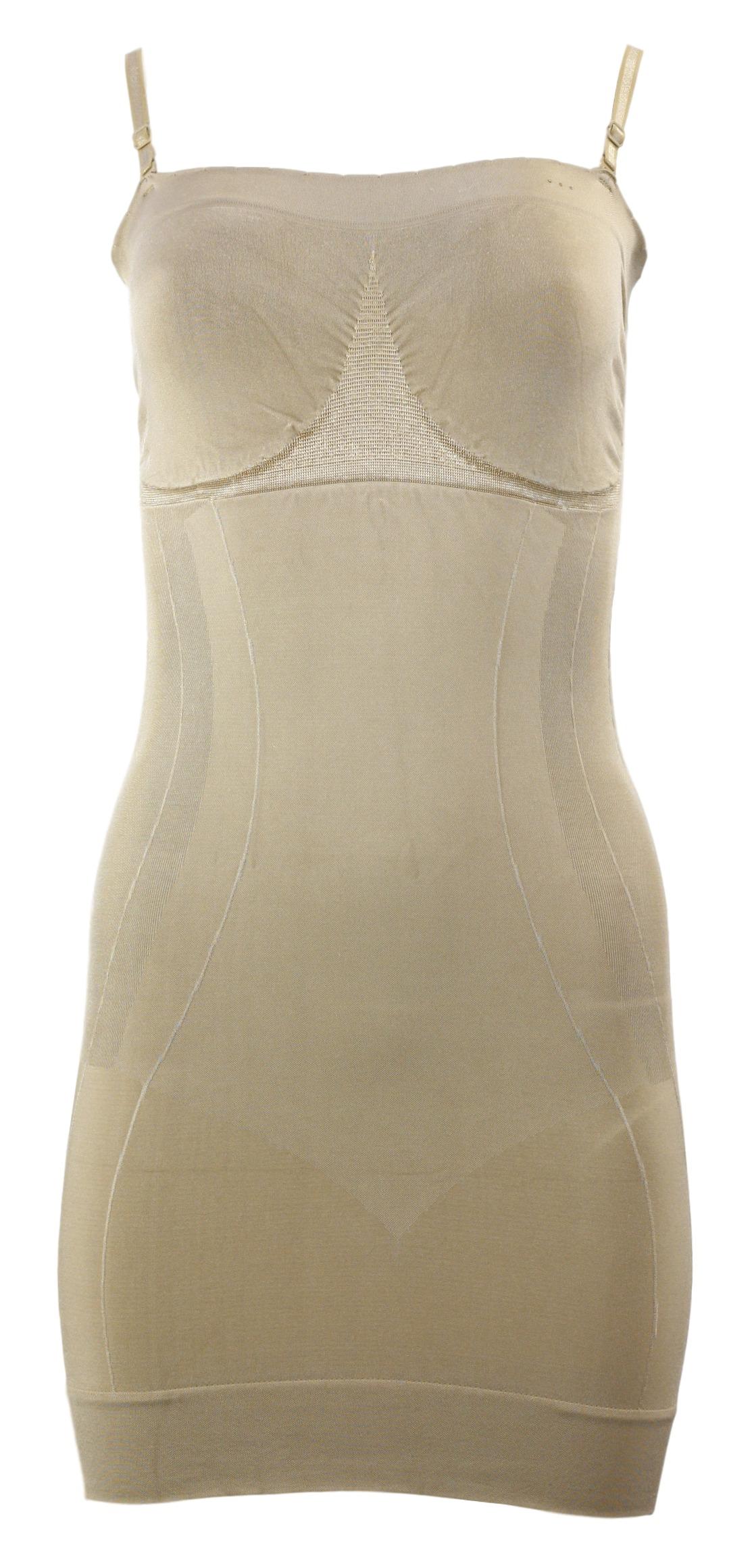 Stahující šaty Shapewear dress - Gatta - Tělová/S