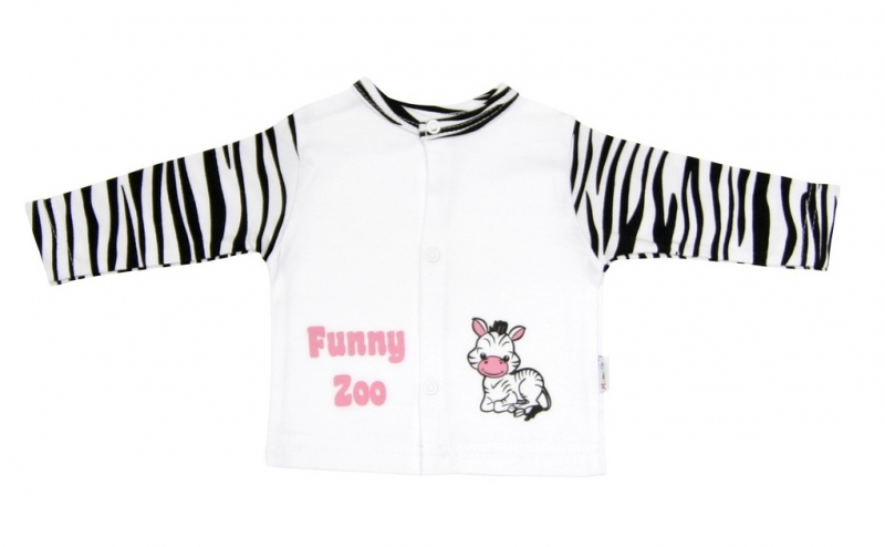 Bavlněná košilka Mamatti - Zebra v ZOO