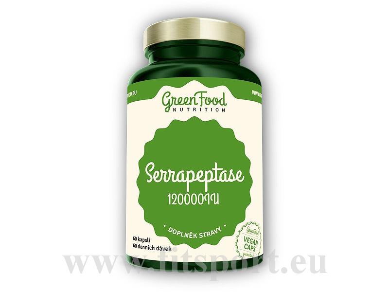 Serrapeptase 120000IU 60 vegan kapslí