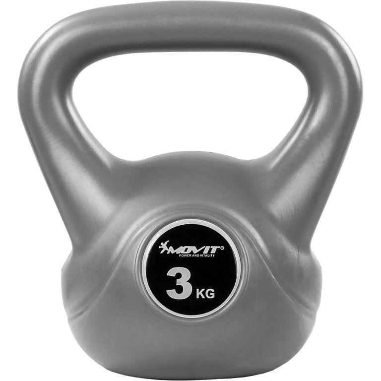 Kettlebell činka šedá- 3 kg