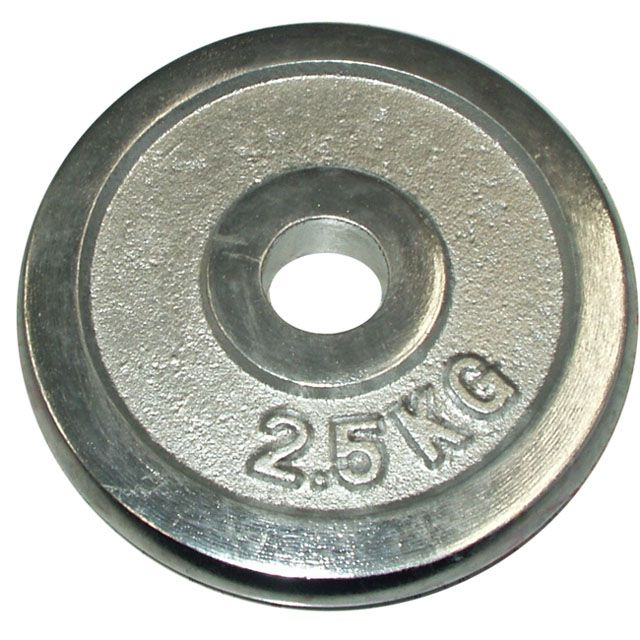 Kotouč chrom 2,5 kg - 30 mm
