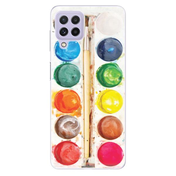 Odolné silikonové pouzdro iSaprio - Watercolors - Samsung Galaxy A22