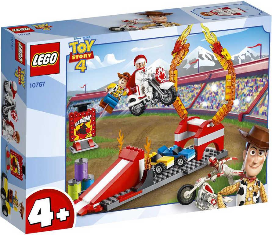 LEGO TOY STORY 4 Kaskadérská show Dukea Cabooma 10767 STAVEBNICE