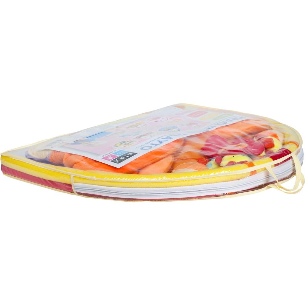 Hrací deka PlayTo lev - oranžová