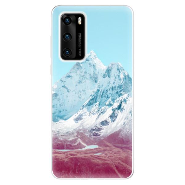 Odolné silikonové pouzdro iSaprio - Highest Mountains 01 - Huawei P40