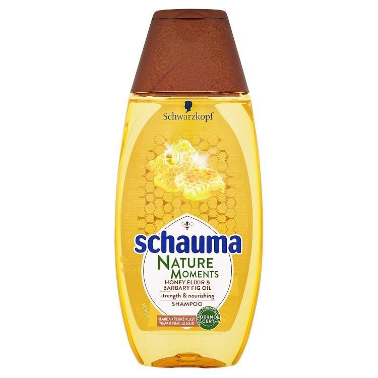 Nature Moments medový elixír a olej z opuncie mexické šampon pro regeneraci a sílu 250 ml