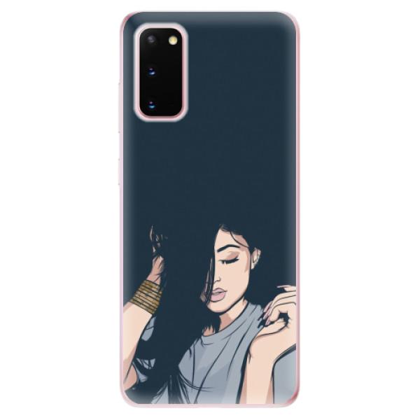 Odolné silikonové pouzdro iSaprio - Swag Girl - Samsung Galaxy S20