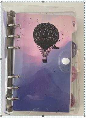 Plánovací diář - Balón