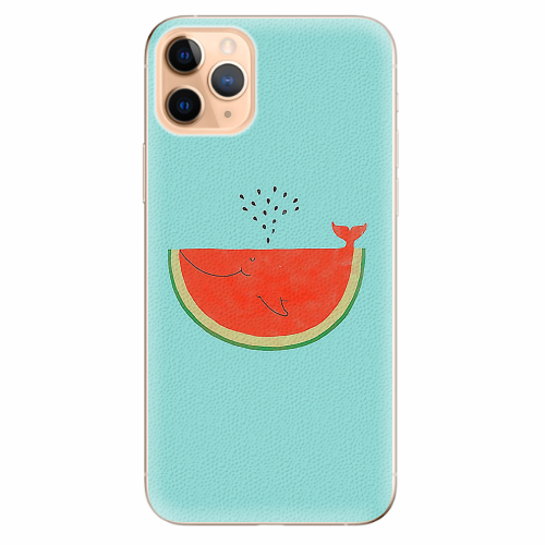Silikonové pouzdro iSaprio - Melon - iPhone 11 Pro Max