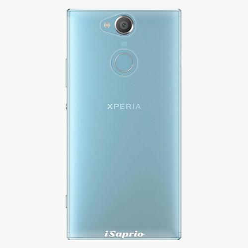 Plastový kryt iSaprio - 4Pure - průhledný matný - Sony Xperia XA2
