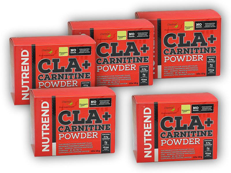 4x CLA + Carnitine Powder 10x12g + 1x - ZDARMA-ananas-hruska
