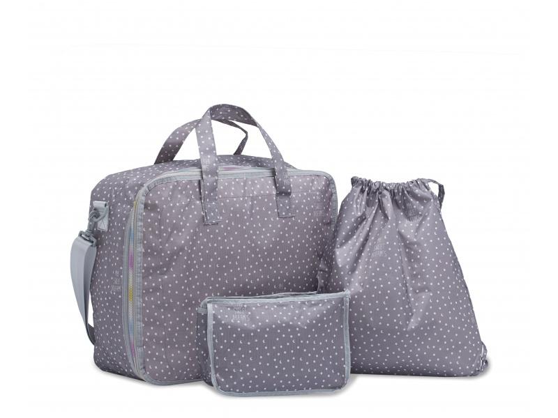 My Bags - Cestovní set 3 v 1 Sweet Dreams Grey