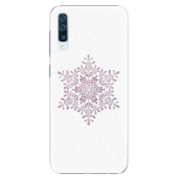 Plastové pouzdro iSaprio - Snow Flake - Samsung Galaxy A50