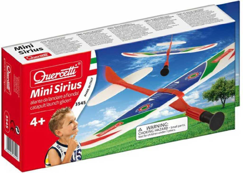 QUERCETTI Mini Sirius II letadlo vystřelovací model kluzák v krabičce