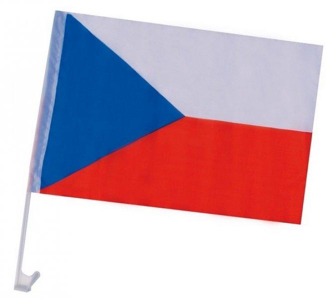 Vlajka na auto - česká verze