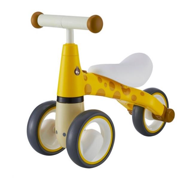 odrazedlo-trikolka-eco-toys-zirafka-zluta