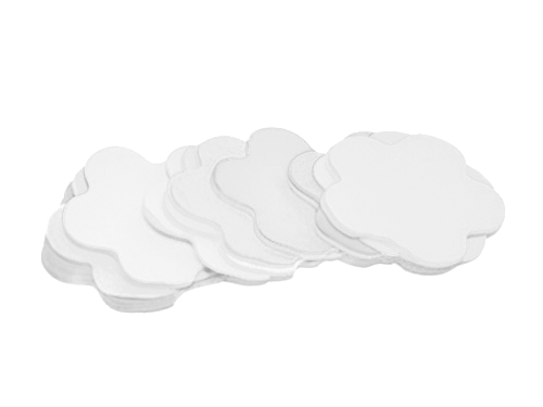 Tcm Fx pomalu padající konfety, květy 55x55mm, bílé, 1kg