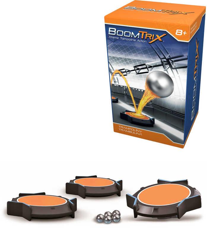 ADC BoomTrix Set trampolína 3ks + 5 kuliček doplněk ke kuličkové dráze