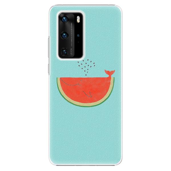 Plastové pouzdro iSaprio - Melon - Huawei P40 Pro