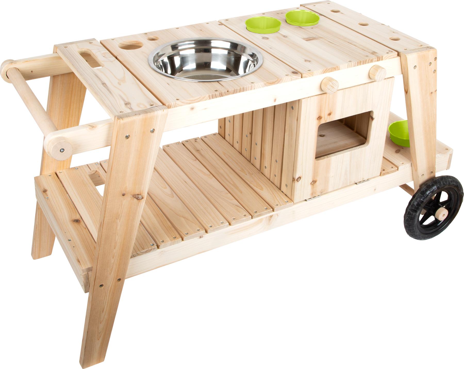 Small Foot Dřevěná venkovní kuchyňka