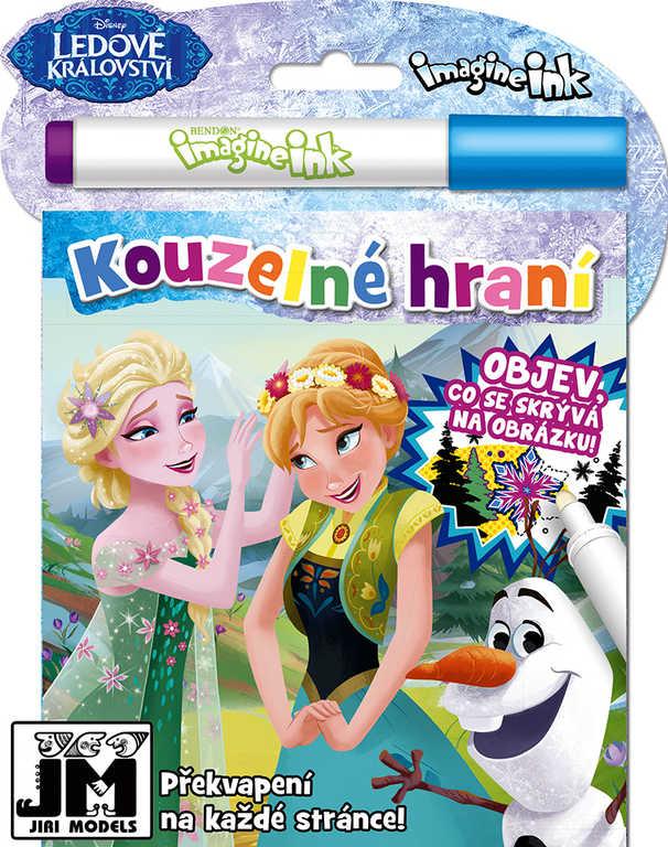 JIRI MODELS Kouzelné hraní Frozen (Ledové Královtsví) aktivity s kouzelnou fixou