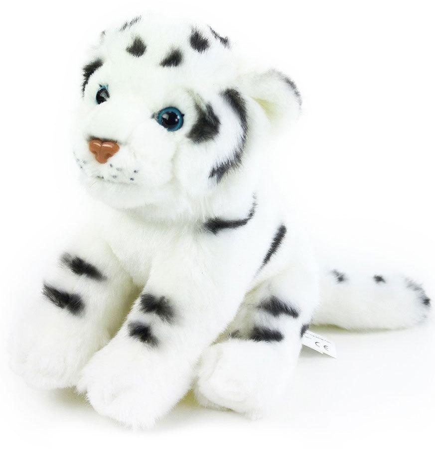 PLYŠ Tygr bílý 20cm sedící *PLYŠOVÉ HRAČKY*
