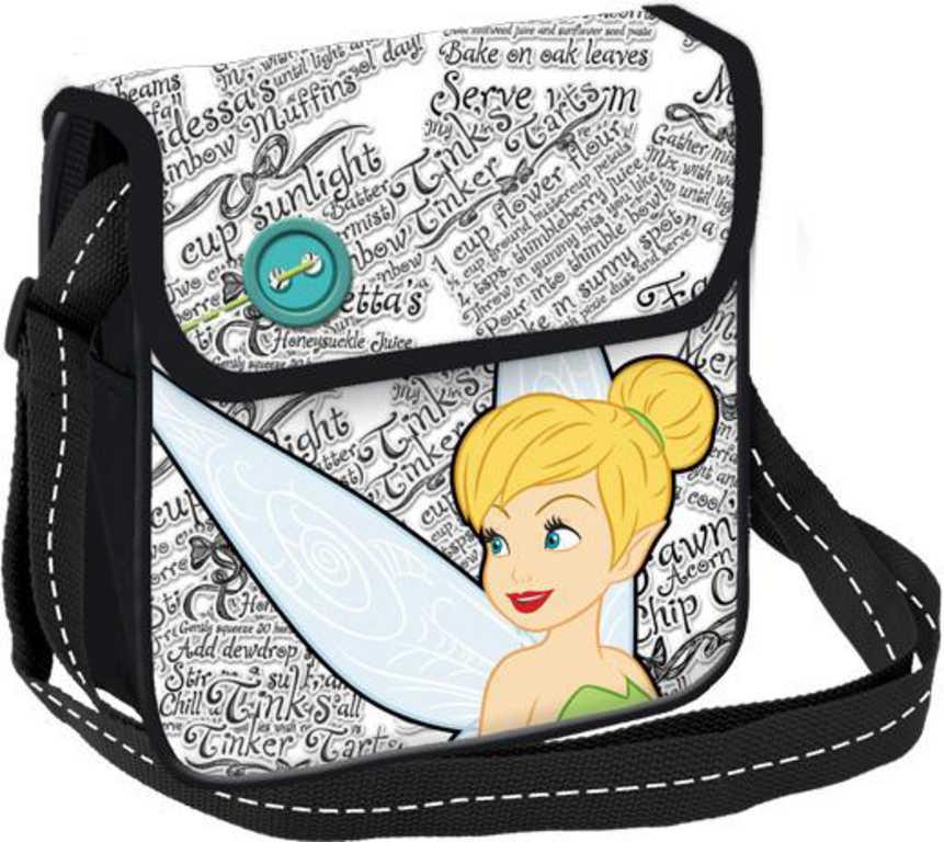 Taška dívčí přes rameno Disney Fairies Víly kabelka 21x21x3cm