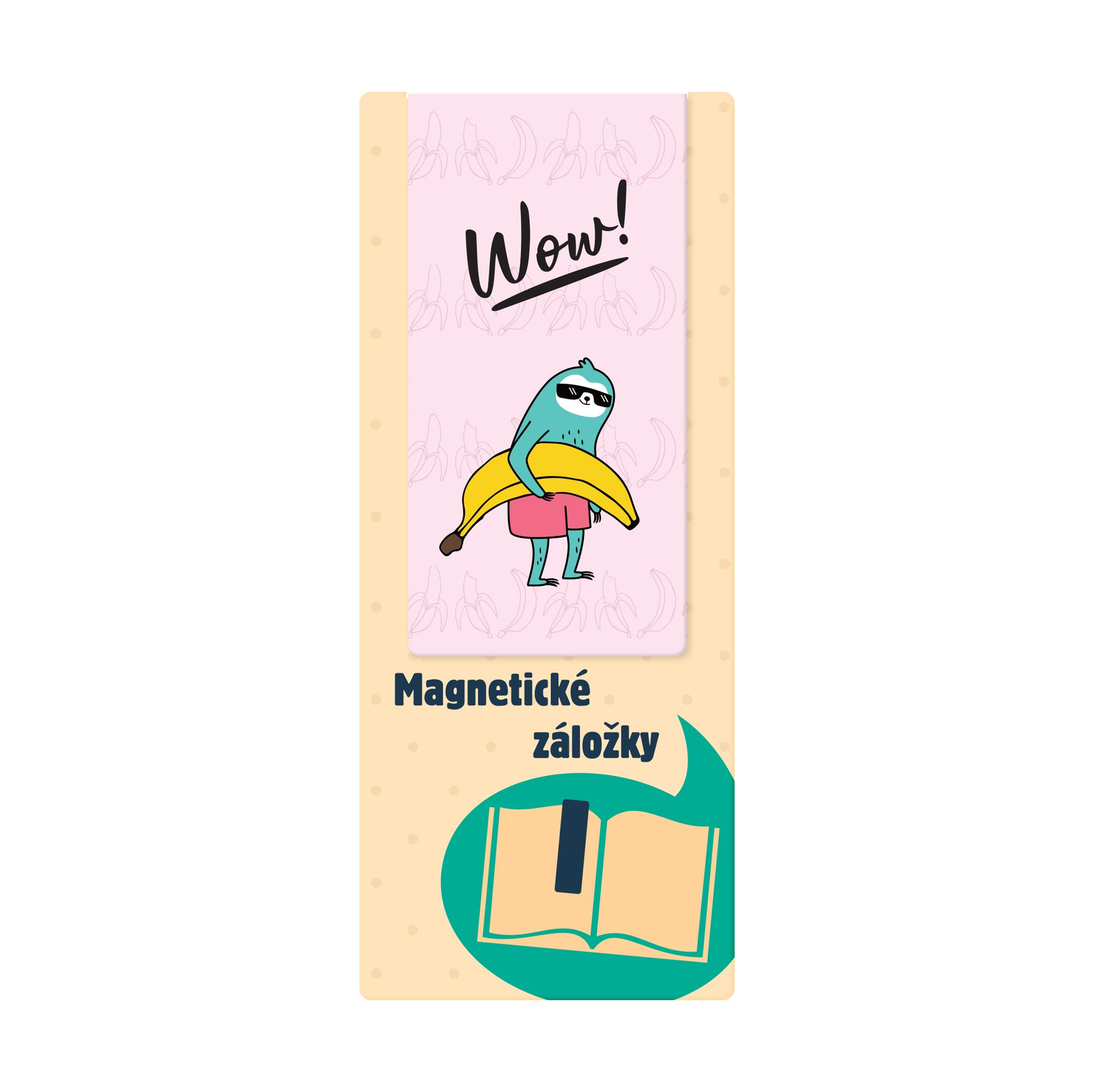 Magnetická záložka - Lenochod