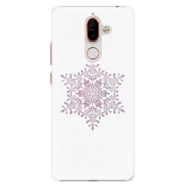 Plastové pouzdro iSaprio - Snow Flake - Nokia 7 Plus