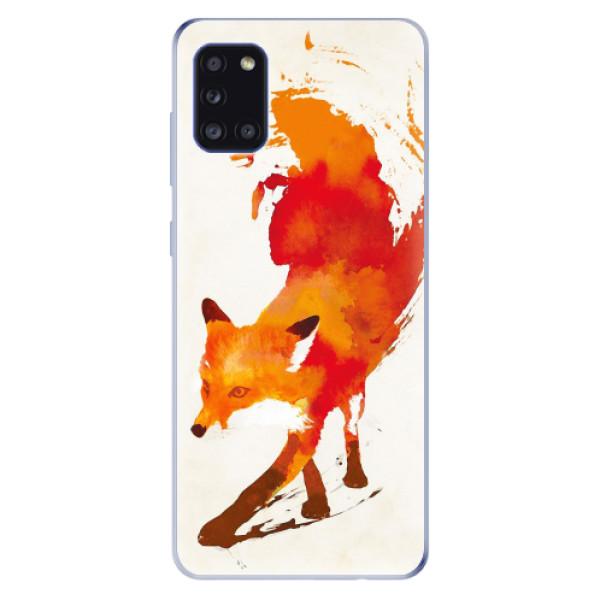 Odolné silikonové pouzdro iSaprio - Fast Fox - Samsung Galaxy A31