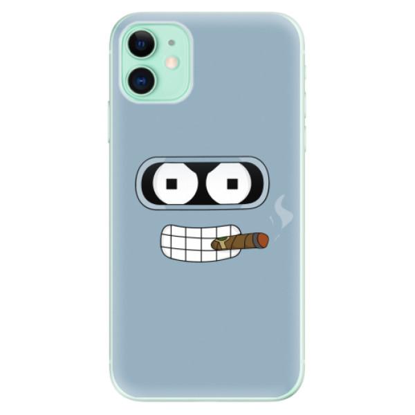 Odolné silikonové pouzdro iSaprio - Bender - iPhone 11