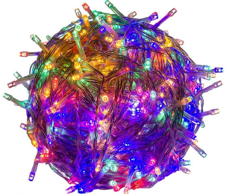 Vánoční LED osvětlení 5 m - barevné 50 LED
