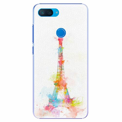 Plastový kryt iSaprio - Eiffel Tower - Xiaomi Mi 8 Lite