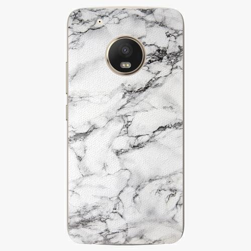 Plastový kryt iSaprio - White Marble 01 - Lenovo Moto G5 Plus