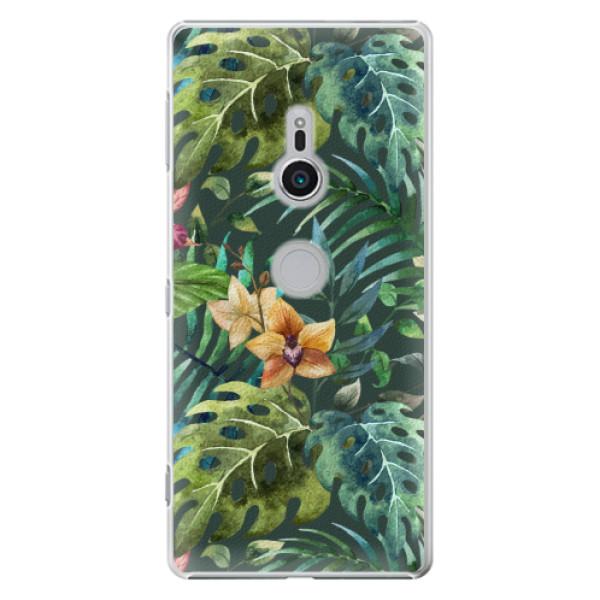 Plastové pouzdro iSaprio - Tropical Green 02 - Sony Xperia XZ2