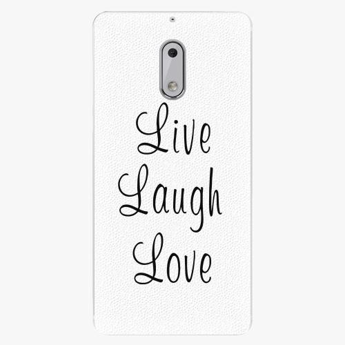 Plastový kryt iSaprio - Live Laugh Love - Nokia 6