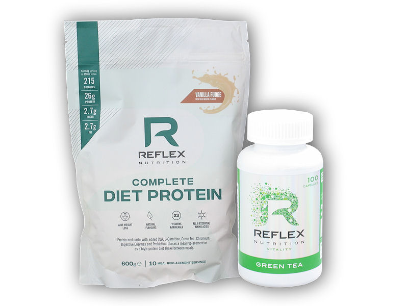 Complete Diet Protein 600g + Green Tea