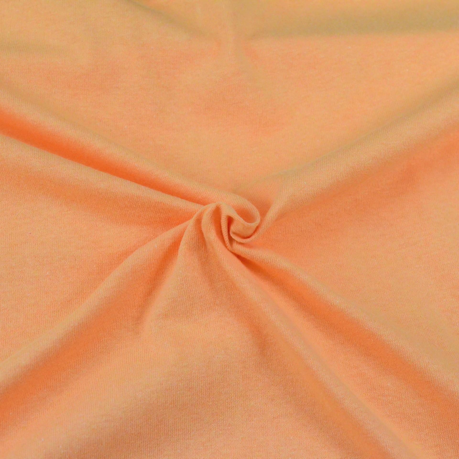 Jersey prostěradlo lososové, Výběr rozměru - 160x200cm