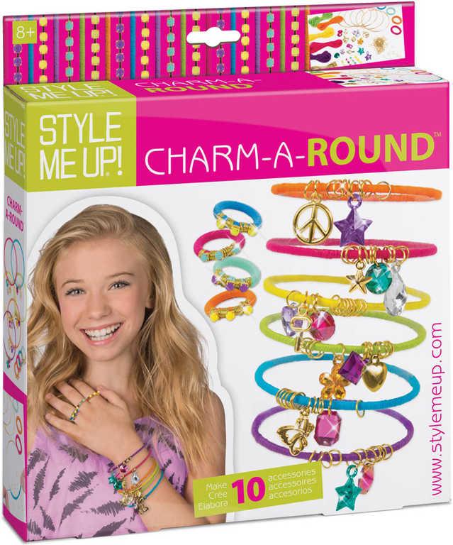 SMU Kouzelné náramky kreativní set s bavlnkami a prstýnky Style Me Up