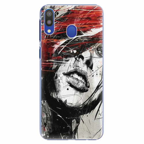 Plastový kryt iSaprio - Sketch Face - Samsung Galaxy M20