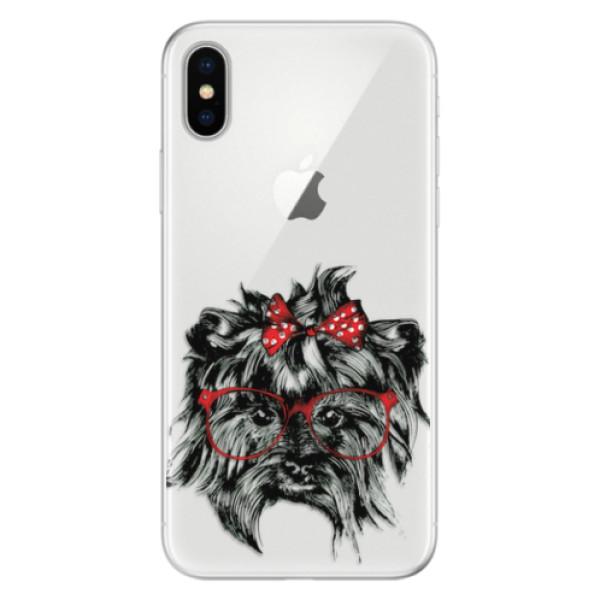 Silikonové pouzdro iSaprio - Dog 03 - iPhone X