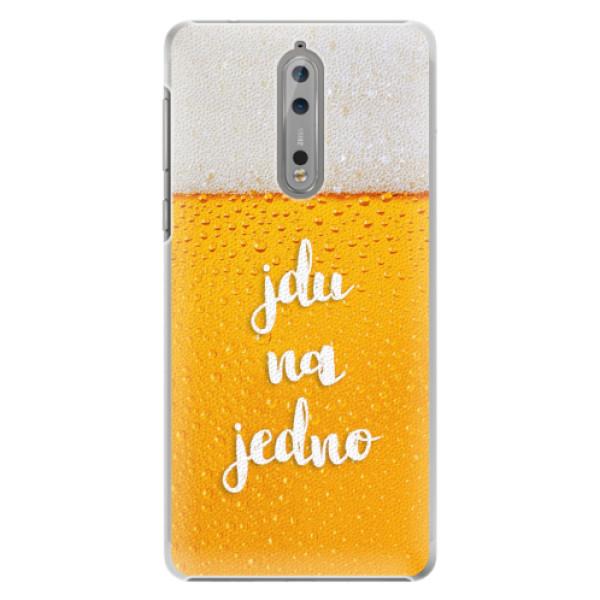 Plastové pouzdro iSaprio - Jdu na jedno - Nokia 8