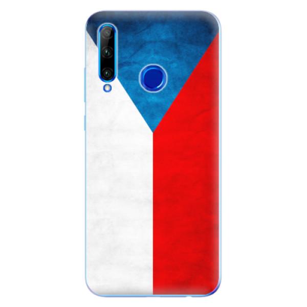 Odolné silikonové pouzdro iSaprio - Czech Flag - Huawei Honor 20 Lite