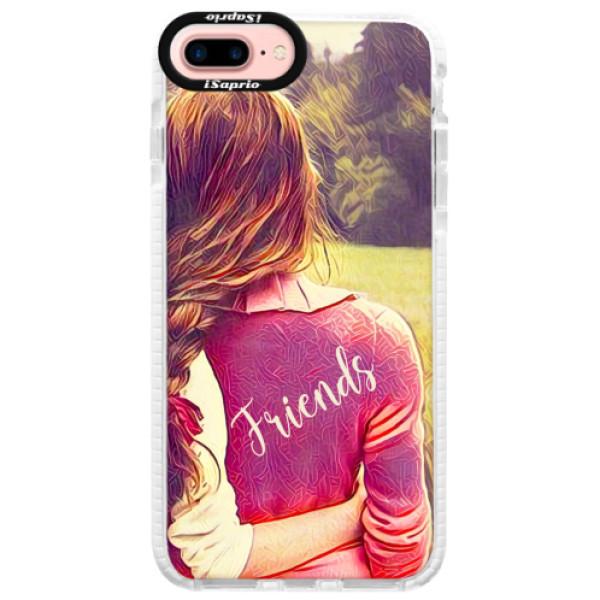 Silikonové pouzdro Bumper iSaprio - BF Friends - iPhone 7 Plus