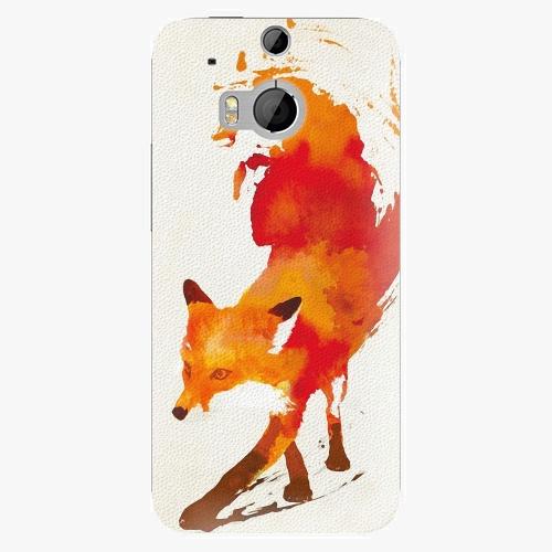 Plastový kryt iSaprio - Fast Fox - HTC One M8