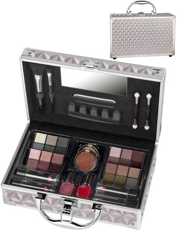 VIP Journey Vienna velký kovový kufřík kosmetický dětská kosmetika