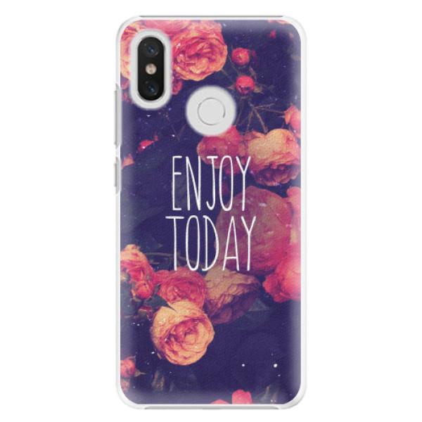 Plastové pouzdro iSaprio - Enjoy Today - Xiaomi Mi 8