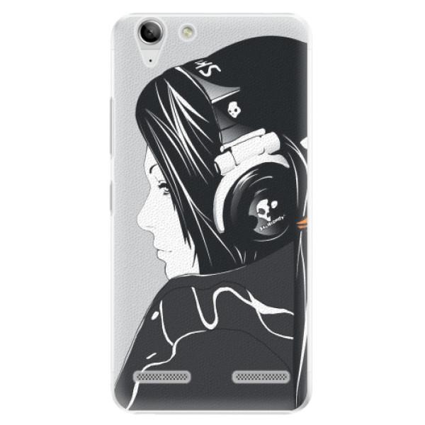Plastové pouzdro iSaprio - Headphones - Lenovo Vibe K5