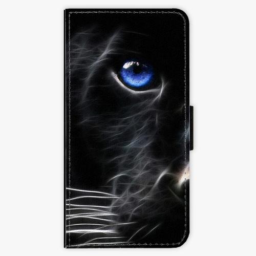 Flipové pouzdro iSaprio - Black Puma - Samsung Galaxy S9 Plus